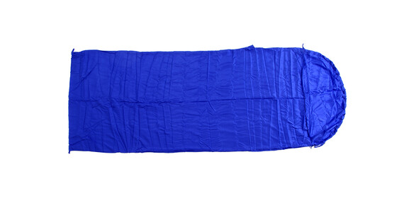 Basic Nature Seiden Inlett Sovepose Deckenform blå